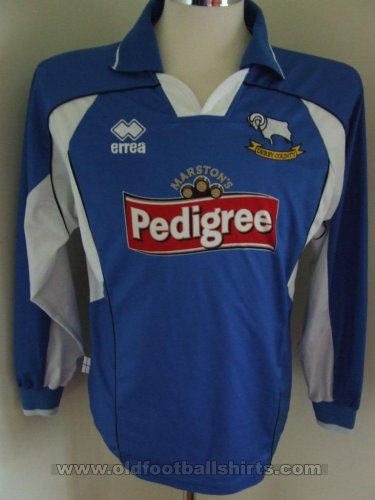 Derby County Away football shirt 2003 - 2005