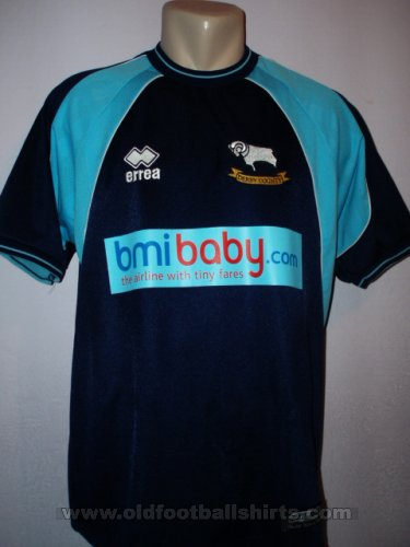 Derby County Special football shirt 2001 - 2003