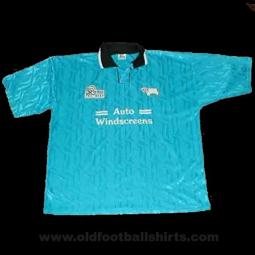 Derby County Away football shirt 1994 - 1995