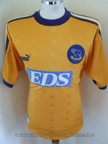 Derby County Away football shirt 1998 - 1999