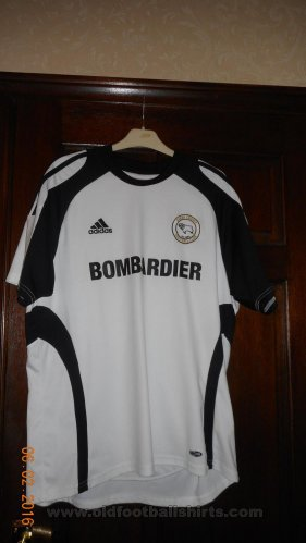 Derby County Home football shirt 2008 - 2009