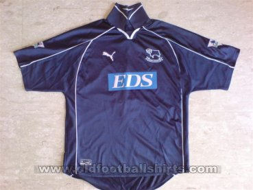 Derby County Away football shirt 2000 - 2001