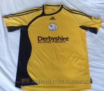 Derby County Third football shirt 2007 - 2008