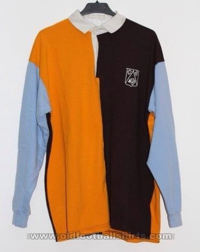 Derby County Retro Replicas football shirt 1900 - 1901