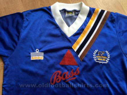Derby County Away football shirt 1984 - 1985