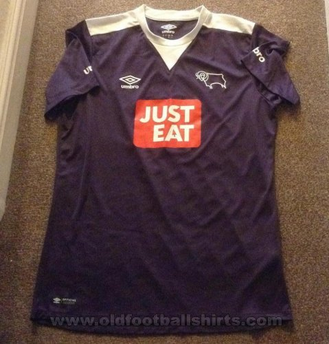 Derby County Away football shirt 2015 - 2016