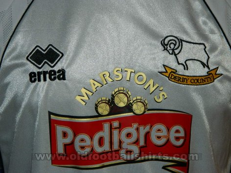 Derby County Home football shirt 2001 - 2003