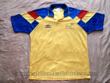 Derby County Away football shirt 1992 - 1993