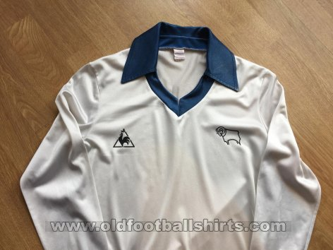 Derby County Home football shirt 1979 - 1981