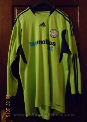 Derby County Goalkeeper football shirt 2011 - 2012