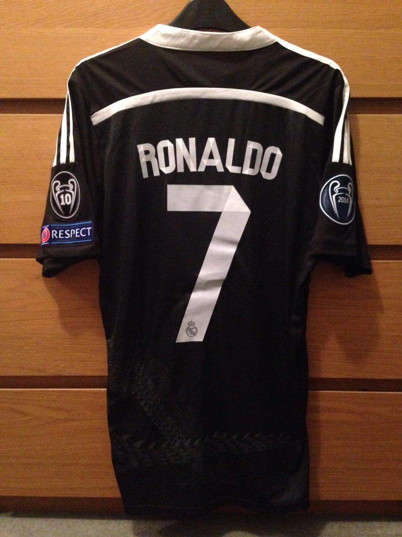 sale retailer 162ad 2dfd5 Real Madrid Third fotbollströja 2014 - 2015.