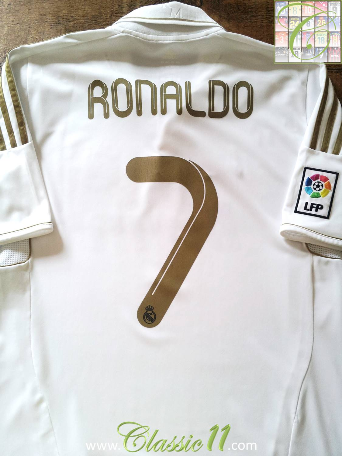 huge selection of d9dcc ae0b4 Real Madrid Home football shirt 2011 - 2012. Sponsored by Bwin