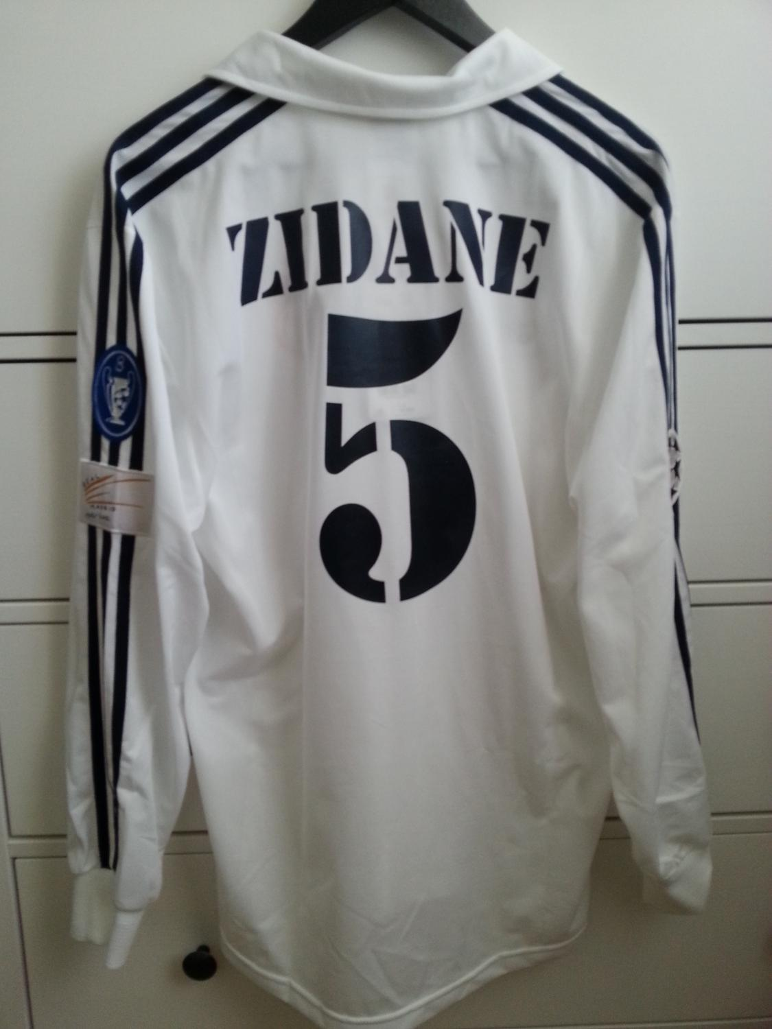 Real Madrid Home Maillot De Foot 2001 2002