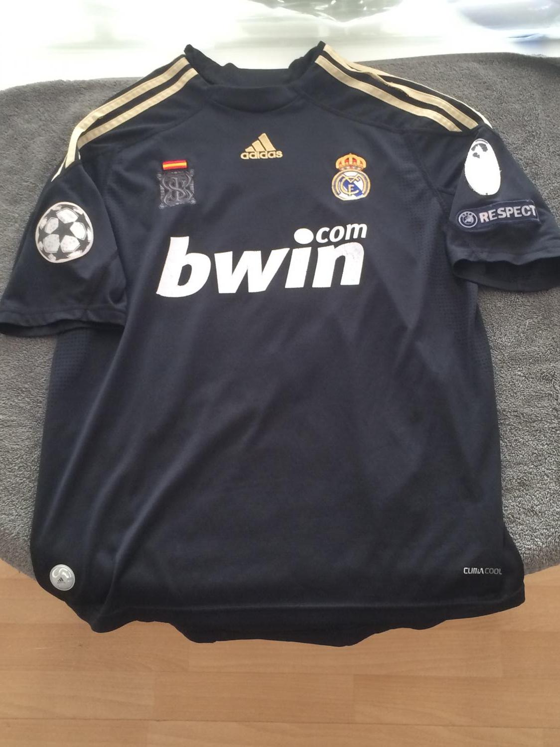 1980s Real Madrid Adidas Originals Football Shirt Adults XL