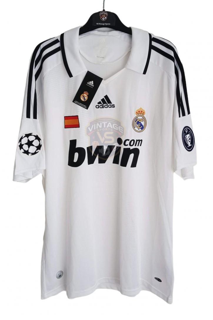 Real Madrid Home football shirt 2008 - 2009.