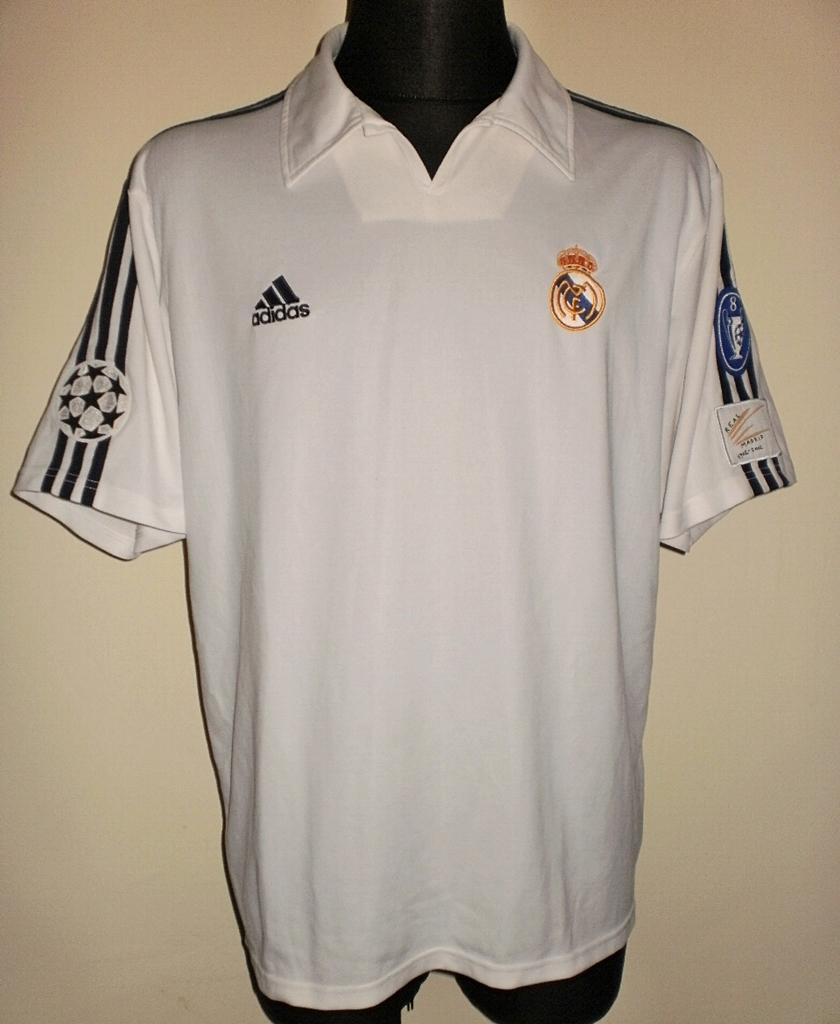 Camiseta Retro Zidane Real Madrid 2002 Champions League