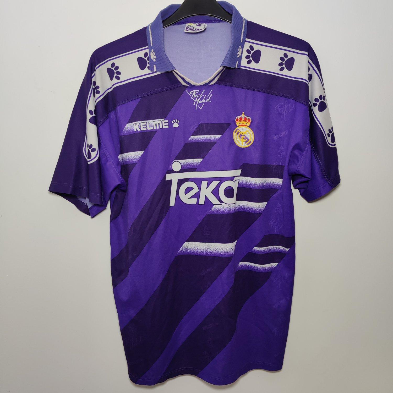 Real Madrid Away football shirt 1994 - 1996.
