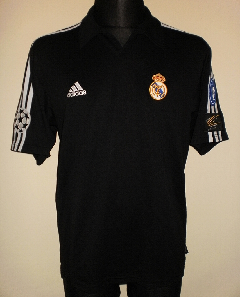 best sneakers 382f8 1e820 Real Madrid Away football shirt 2001 - 2002.