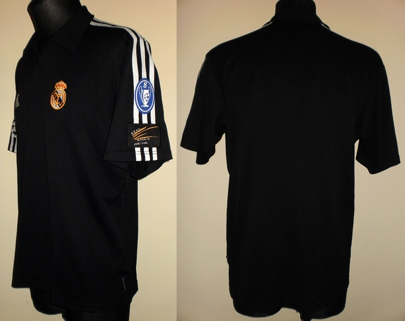 4fdf7dbb924 Real Madrid Away camisa de futebol 2001 - 2002.