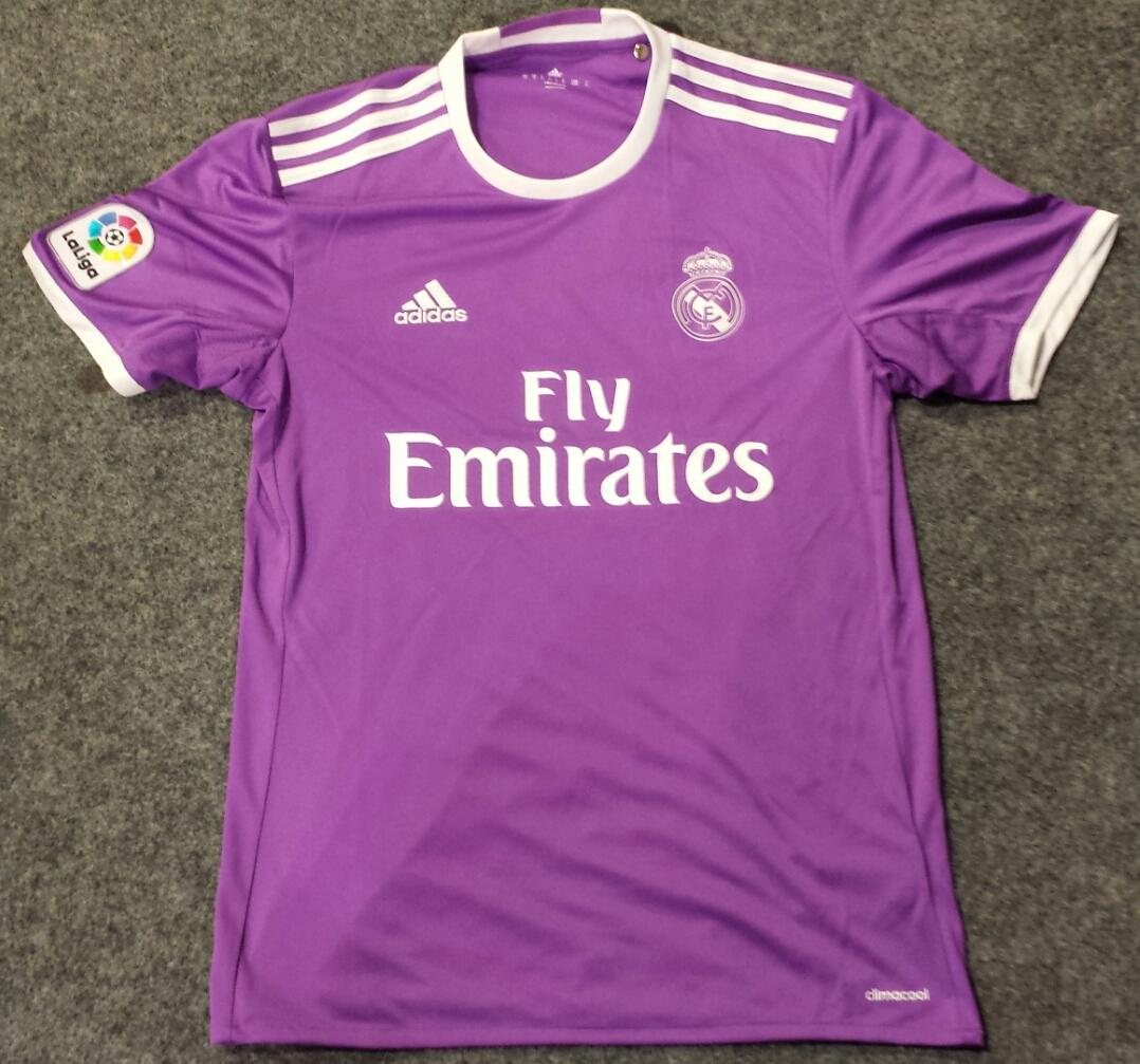 Real Madrid Maglia da trasferta maglia di calcio 2016 - 2017 ...