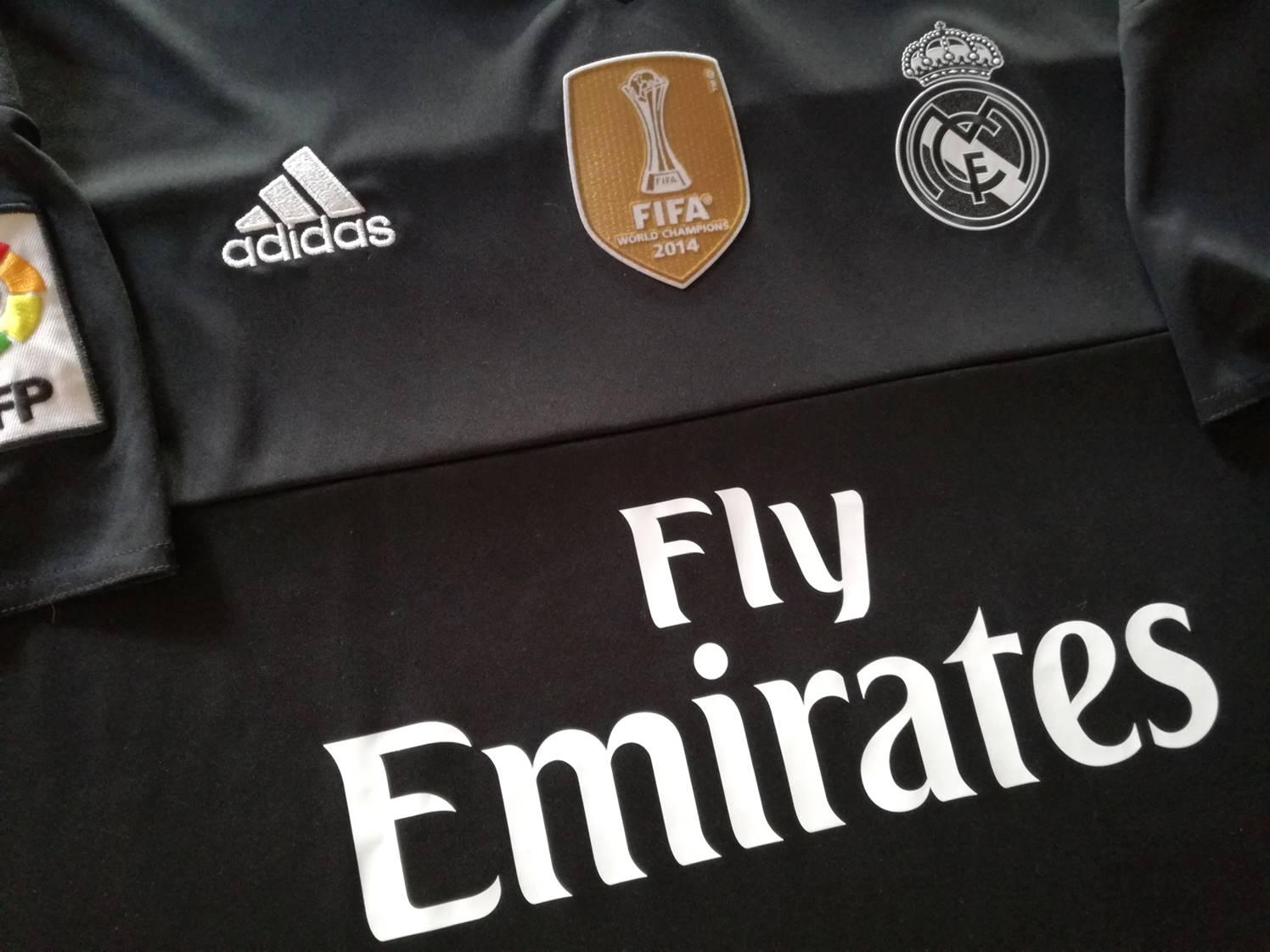 4e13a10f84c98 Real Madrid Goalkeeper camisa de futebol 2015 - 2016.