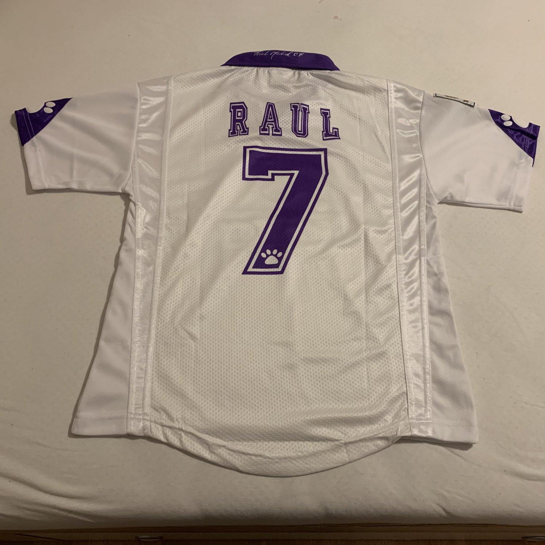 518fd48f21e Real Madrid Home חולצת כדורגל 1997 - 1998.