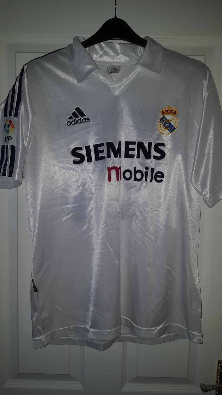 san francisco 84074 21366 Real Madrid Home voetbalshirt 2002 - 2003.