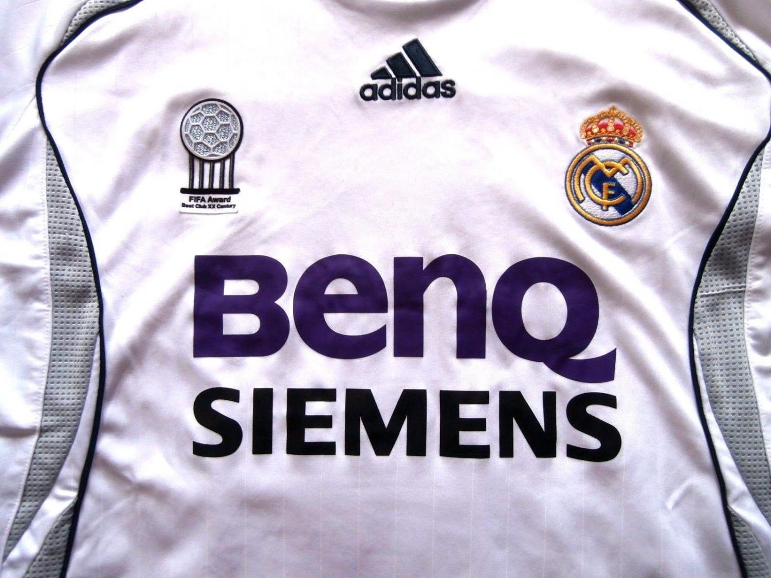 f50554bcf Real Madrid Home voetbalshirt 2006 - 2007.