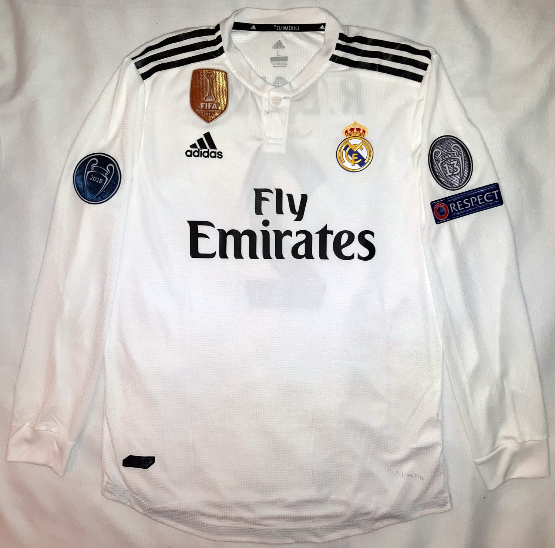 timeless design 748df 65885 New Season Real Madrid Home football shirt 2018 - 2019 ...