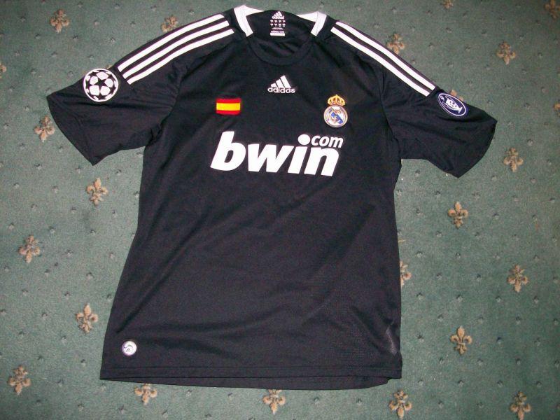 Real Madrid Third football shirt 2008 - 2009.