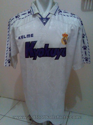 Real Madrid Special football shirt 1996 - 1998