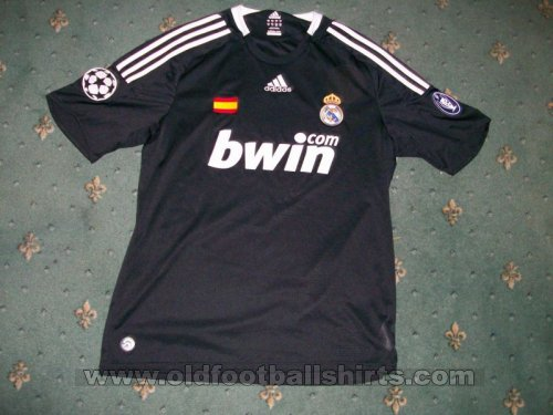 Real Madrid Third football shirt 2008 - 2009