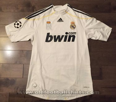 Real Madrid Home football shirt 2009 - 2010