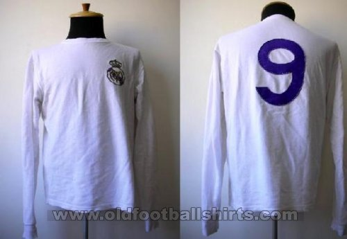 Real Madrid Retro Replicas football shirt 1965 - 1970