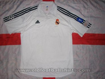 Real Madrid Cup Shirt football shirt 2002 - 2003