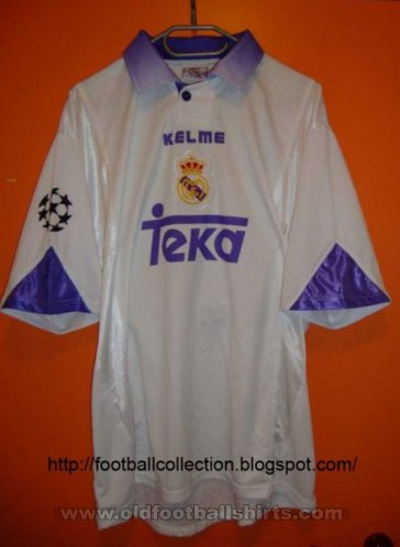 Real Madrid Cup Shirt football shirt 1997 - 1998
