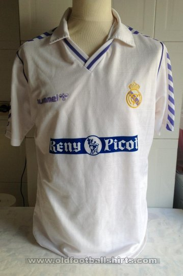 Real Madrid Home football shirt 1989 - 1990