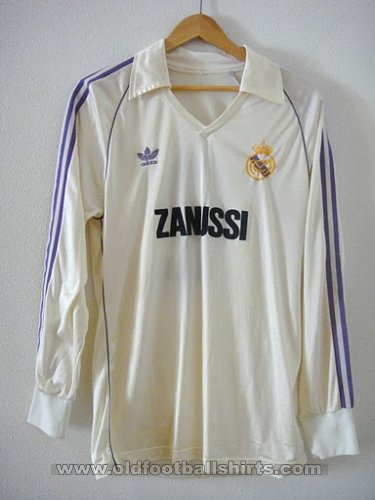 Real Madrid Home football shirt 1981 - 1986
