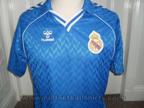 Real Madrid Away football shirt 1987 - 1989