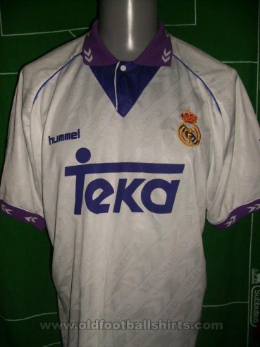 Real Madrid Home football shirt 1992 - 1993