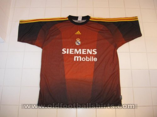 Real Madrid Goalkeeper football shirt 2003 - 2005