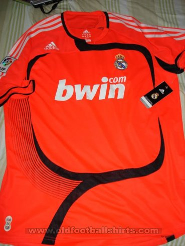Real Madrid Goalkeeper football shirt 2007 - 2008