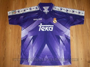 Real Madrid Away football shirt 1996 - 1997