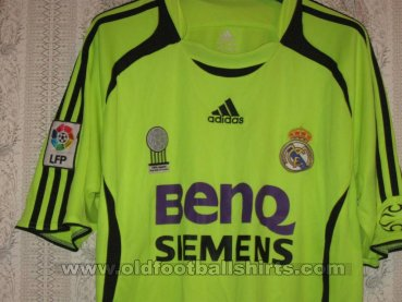 Real Madrid Third football shirt 2006 - 2007
