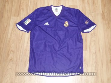 Real Madrid Third football shirt 2001 - 2002