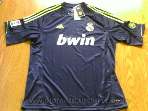 Real Madrid Away football shirt 2012 - 2013