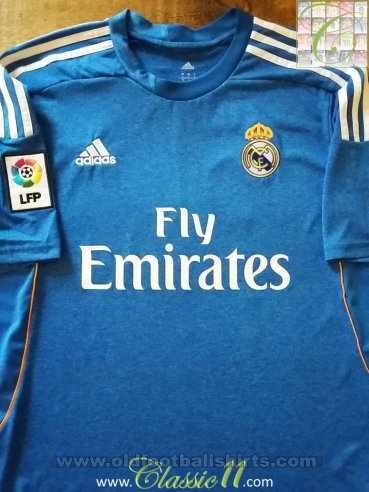 Real Madrid Away football shirt 2013 - 2014