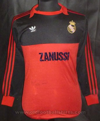 Real Madrid Goalkeeper football shirt 1981 - 1983