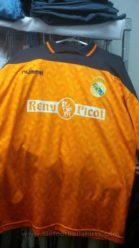 Real Madrid Goalkeeper football shirt 1989 - 1990
