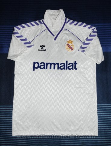 Real Madrid Home football shirt 1986 - 1987